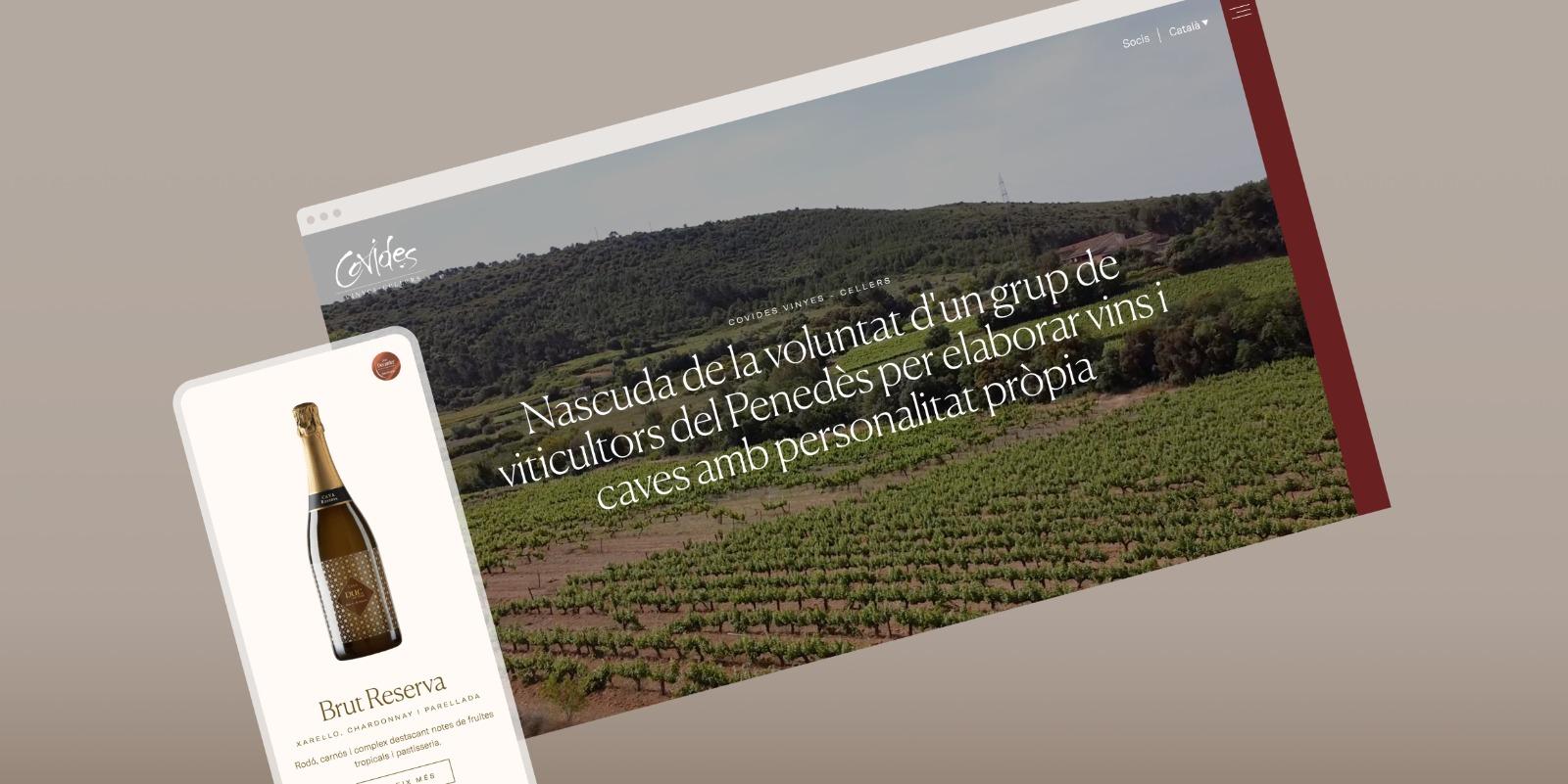 Covides, la primera cooperativa vitivinícola de Catalunya
